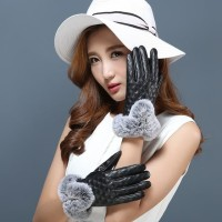 Sarung Tangan Touch Screen Wanita,Sarung Tangan Winter Kulit