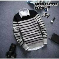 Sweater Pria RAJUT Tebal DIEGO Blaster
