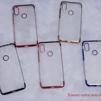 Xiaomi Redmi note 5 / PRO SHINING CHROME TPU CASE CLEAR Silicone Case