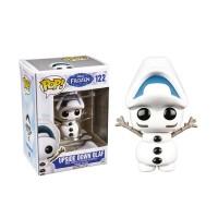 PROMO Action Figure Funko Pop Disney Frozen Olaf Upside Down Original