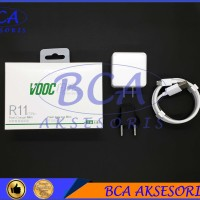 TRAVEL CHARGER OPPO R11 - VOOC 4A VC54JBCH - MICRO USB ORIGINAL 100%