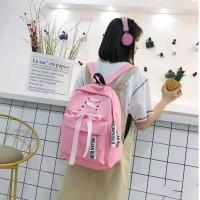 backpack tas punggung tas sekolah tas cewe