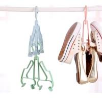 2nd shoes hanger new gantungan jemuran sepatu sandal