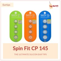 Original SpinFit CP145 Ultimate Silicone Ear Tip 360 Rotation