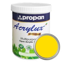 CAT DUCO WATERBASED PROPAN ACRYLUX CHROME YELLOW TT 0.9K