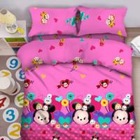 Bed cover set Fata Anak Signature 3D ukuran 120 x 200 motif TsumTsum