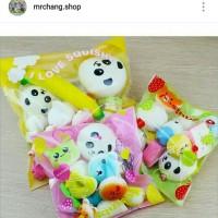 Squishy paket isi 10pcs murah