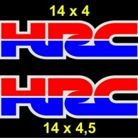 Cutting Sticker / Stiker Body Motor Helm Logo Honda Racing HRC Besar