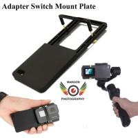 Adapter Stabilzer GO PRO HERO - Adapter Switch Mount Action Cam