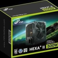 FSP HEXA+ II 500W 80+ / FSP HEXA PLUS II 500W 80+