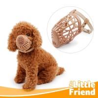 Muzzle Penutup Mulut/Brangus/Brongsong/Aksesoris Pet Anti Bite Anjing