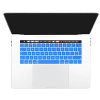 Keyboard Protector Macbook TOUH BAR 13 15 2016 2017 - EU ENGLISH BLUE