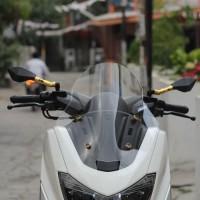 Visor Windshield Motor Acrylic Yamaha NMAX rep TDR 42cm Murah