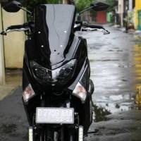 Visor Windshield Motor Yamaha Nmax Black plus baut speacer
