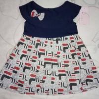 Uk 0-2 thn Drees Sabrina Baju anak perempuan Dress Bayi dress Anak mix