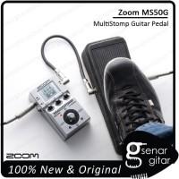 Zoom MS50G - Stompbox Multi Efek Gitar Multi Stomp MS 50G MS-50G