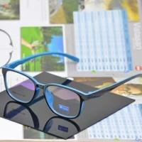 Frame Kacamata Pria Wanita Biru