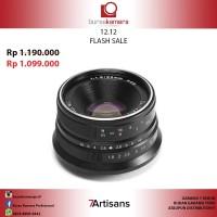 7artisans Photoelectric 25mm f1.8 Lens for Fuji X-Mount (Black)
