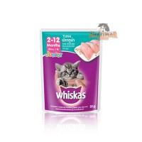 Whiskas Pouch / Sachet 85gr Wetfood Junior Tuna