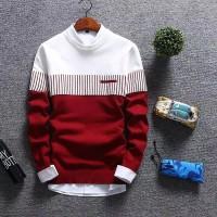 Atasan Pria Sweater Rajut Pria