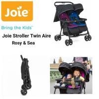 Kereta Dorong Bayi Kembar Stroller Joie Meet Twin Aire Rosy & Sea