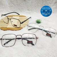 kacamata frame retro kotak besar