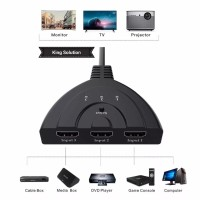 HDMI Switch 3 Port Kabel (3 input 1 output)/HDMI Switcher Kabel 3 port
