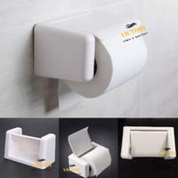 Tempat Kotak Tissue toilet Tisu Roll Plastik model Toto