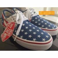 vans chuka low american flag