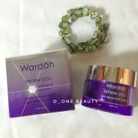 WARDAH RENEW YOU ANTI AGING NIGHT CREAM 30g