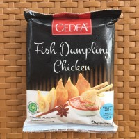 new cedea fish dumpling chicken 200gr baso ikan isi ayam