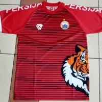 kaos jersey persija training tiger roar merah liga 1 2018/2019
