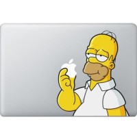 077 Macbook Decal Sticker Vinyl Aksesoris Laptop Shimpson