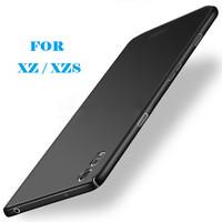 XZ XZS Sony Xperia Case Casing Cover Slim Black