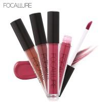 FOCALLURE Lipstick Lip Gloss Matte Tahan Lama & Anti Air NOVO