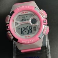 jam tangan anak digital anak water resist merk visica skmei casio