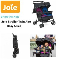 Joie Twin Aire Rosy & Sea / Stroller / Kereta Dorong Bayi Kembar