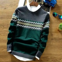 Sweater Rajut Pria Michel Green
