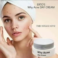 ertos why acne day cream / krim siang acne ertos