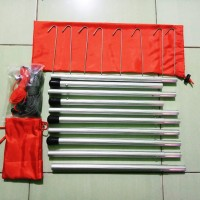 tiang frame flysheet+pasak+tali
