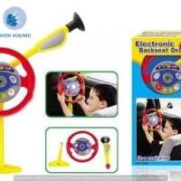 ELECTRONIC BACKSEAT DRIVER MAINAN STIR-STIRAN Anak Laki Setir Mobil