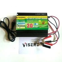 Charger Accu CAS Aki 12v 20a Digital LED Display - VISERO LED