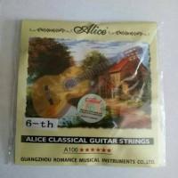 Senar Nylon Gitar Klasik Per Satuan Merk Alice Ori