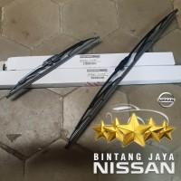 Wiper Blade Depan Grand Livina Juke Original Nissan Set 2pc