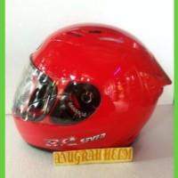 helm kyt rc seven warna merah