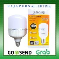 LAMPU LED BULB JUMBO ECOKING 30W / 30 watt SUPER TERANG