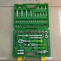 Tekiro Kunci Sock - Kunci Sock Set 1/4''-1/2'' DR 94 Pcs 6 PT Plastik
