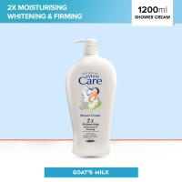 White Care Shower Cream Goats Milk 1200ml