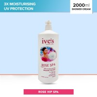 Ive's White Eden Rose Spa Shower Cream