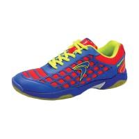 Flypower Dieng Sepatu Badminton - Blue Red Citrus